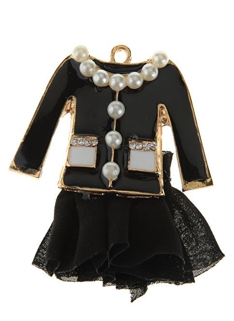 Coquet Accessories Broş Siyah
